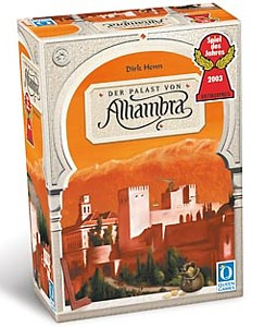 Alhambra fun board game for adults
