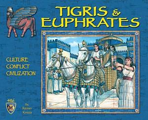 Tigris & Euphrates fun board game