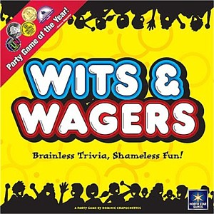 Wits & Wagers fun board game for adults