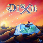 Fun board game Dixit