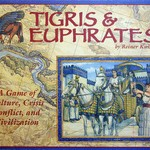 Fun board game Tigris & Euphrates