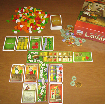 Fun board game At the Gates of Loyang
