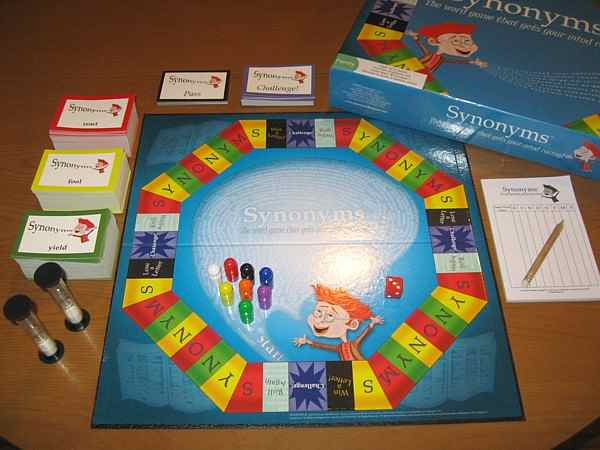 Synonyms The Basics Of Are Simple You Roll A And Move Your Around Board If It Lands On Letter Have One Minute To Come Up