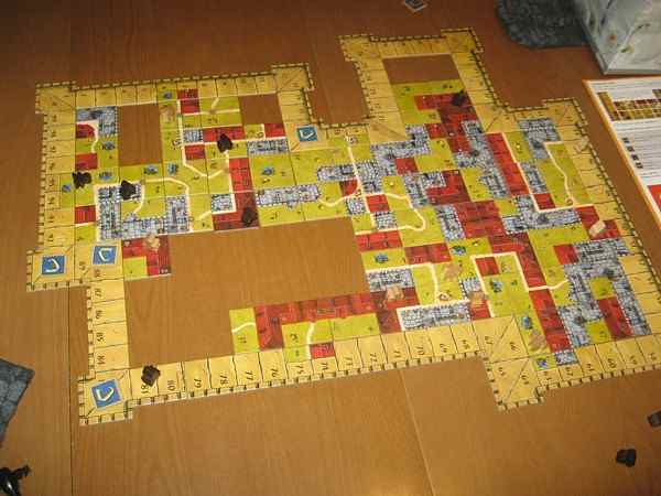 Carcassonne Castle end game