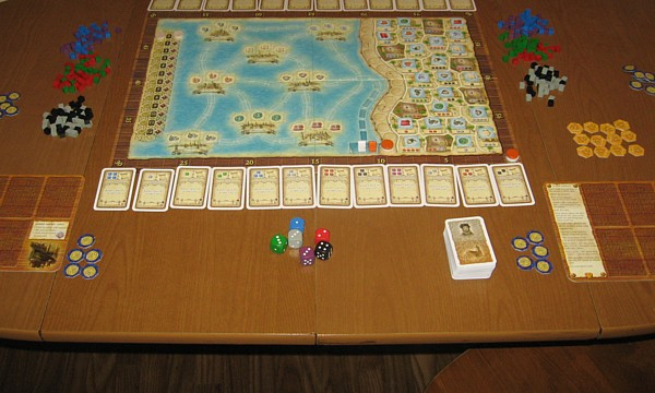 Macao Setup for 2 Players