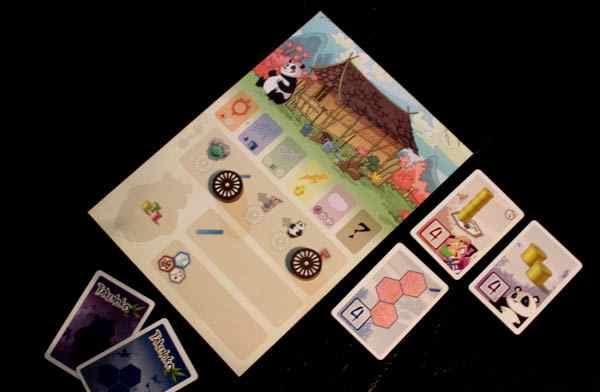 Takenoko player board