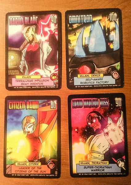 Sentinels cards