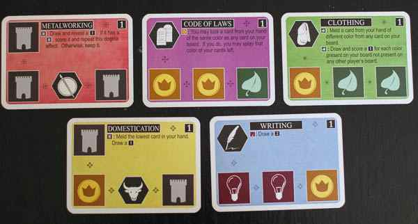 Innovation card colors