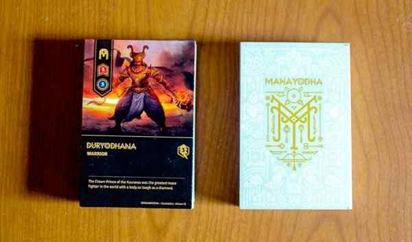 Maha Yodha black and white decks