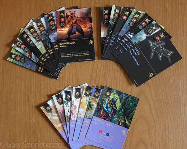 Maha Yodha card types