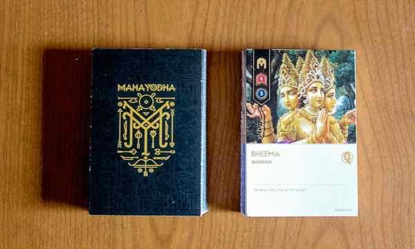 Maha Yodha white and black decks