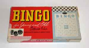 Old Bingo box