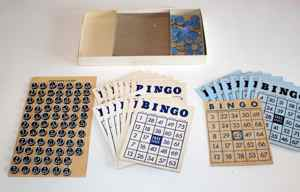Old Bingo set