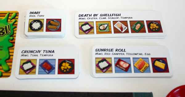 Wasabi! recipe cards