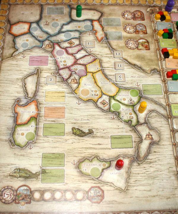 De Vulgari Eloquentia map