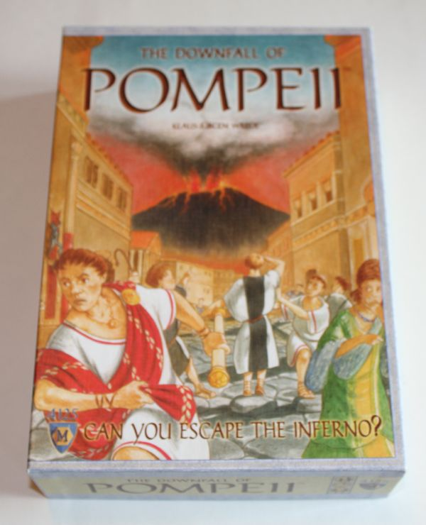 The Downfall of Pompeii box