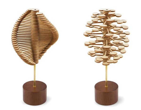 Helicone helix and pine cone
