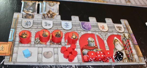 Merlin player board