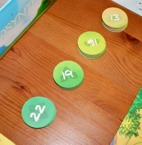 Photosynthesis scoring tokens