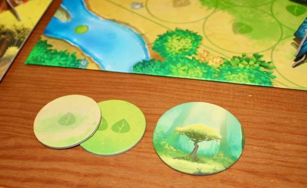 Photosynthesis start player token