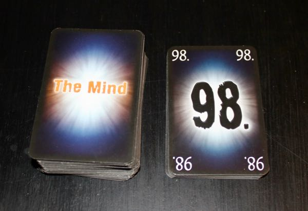 The Mind deck of 100 cards
